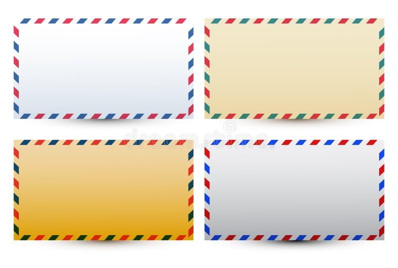 Mail postal envelope vector illustration. Eps available stock illustration