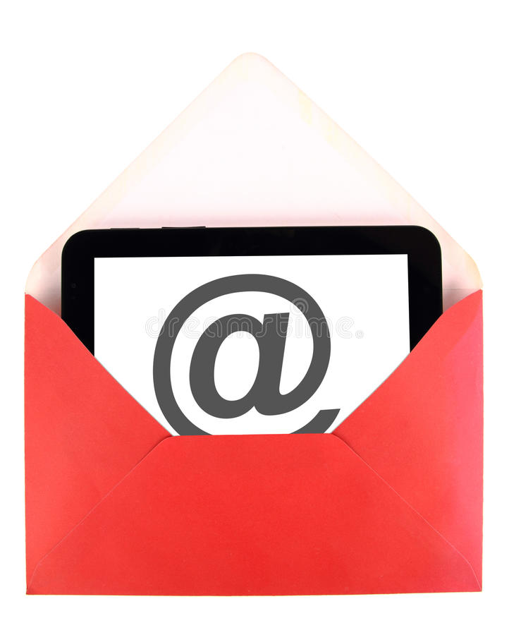 Download Mail On Tablet Stock Image - Image: 21687891