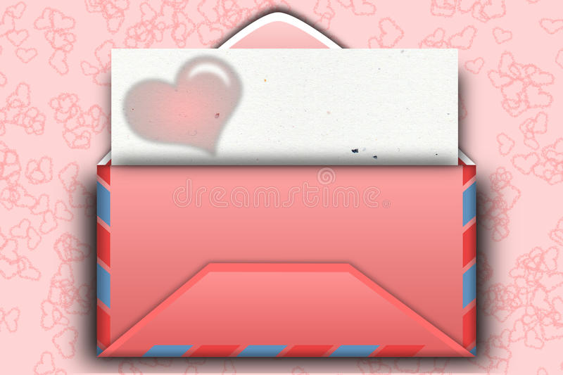 Download Mail for Valentine day stock illustration. Illustration of valentine - 12939687