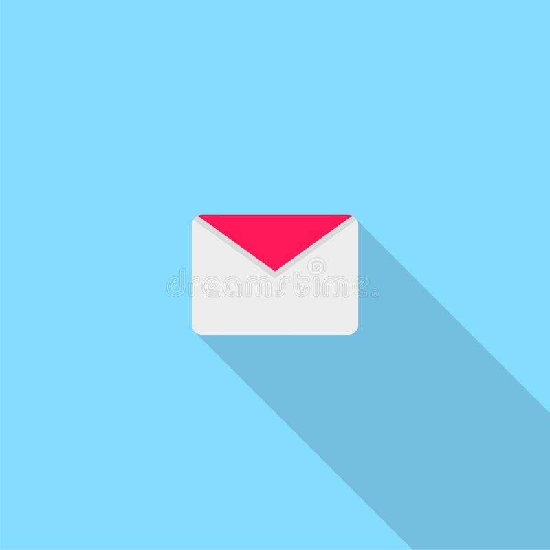 Mail vector icon vector illustration