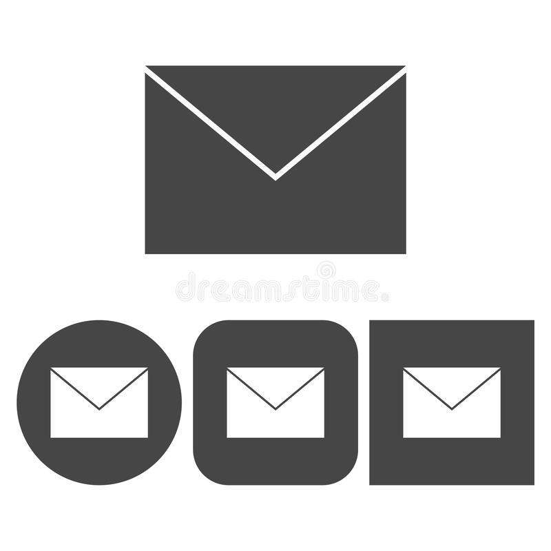 Mail - vector icon royalty free illustration