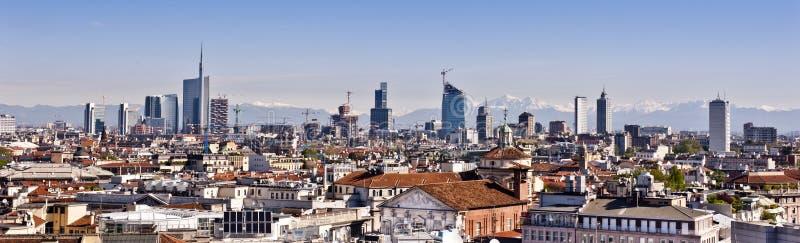 Mailand 2012: neue Skyline lizenzfreie stockfotografie