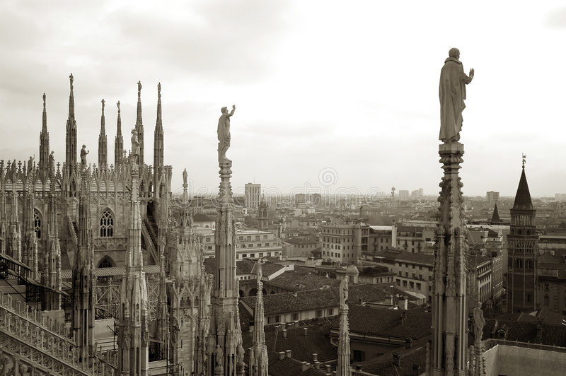 Mailand lizenzfreies stockbild