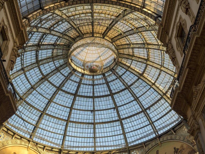 Mailand: die Galerie stockfotografie