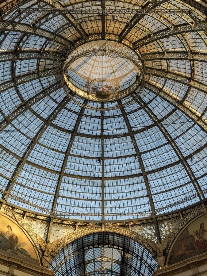 Mailand: die Galerie lizenzfreies stockfoto