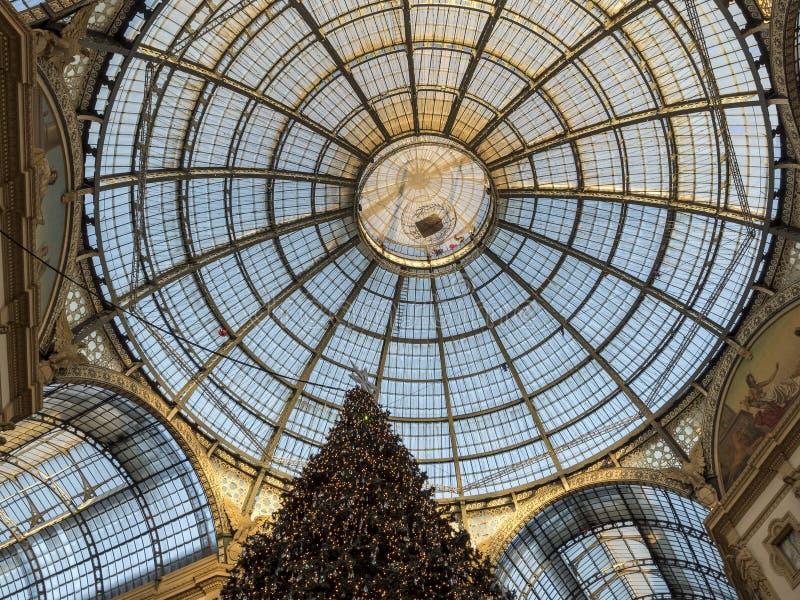 Mailand: die Galerie stockbild