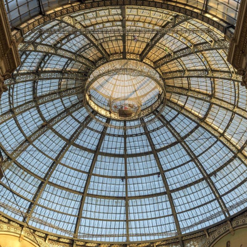 Mailand: die Galerie stockfoto