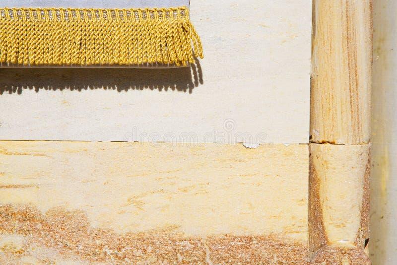 Mailand Kirchen-Betonmauerziegelstein Italiens im alten das Gold lizenzfreie stockfotos