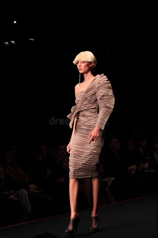 Mailand-Modeschau lizenzfreies stockfoto