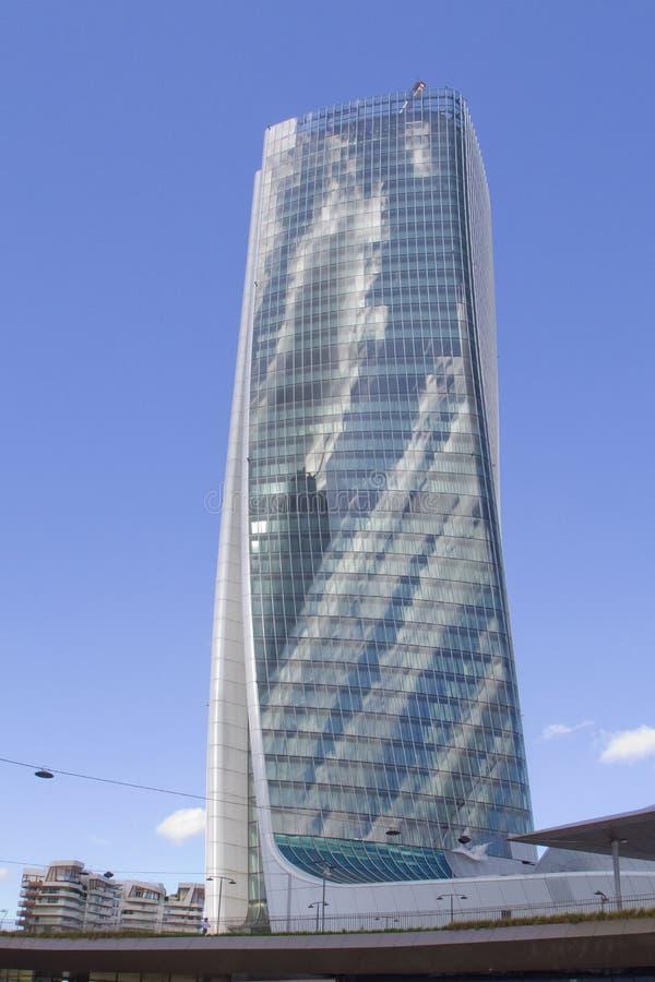 Mailand, Wolkenkratzer-Turm im Stadt-Leben-Bereich, Italien, Europa stockfoto