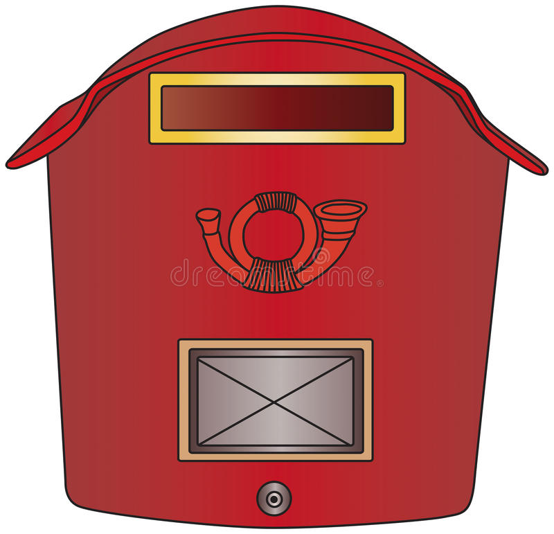 Download Mailbox stock vector. Image of friend, postoffice, email - 15656165