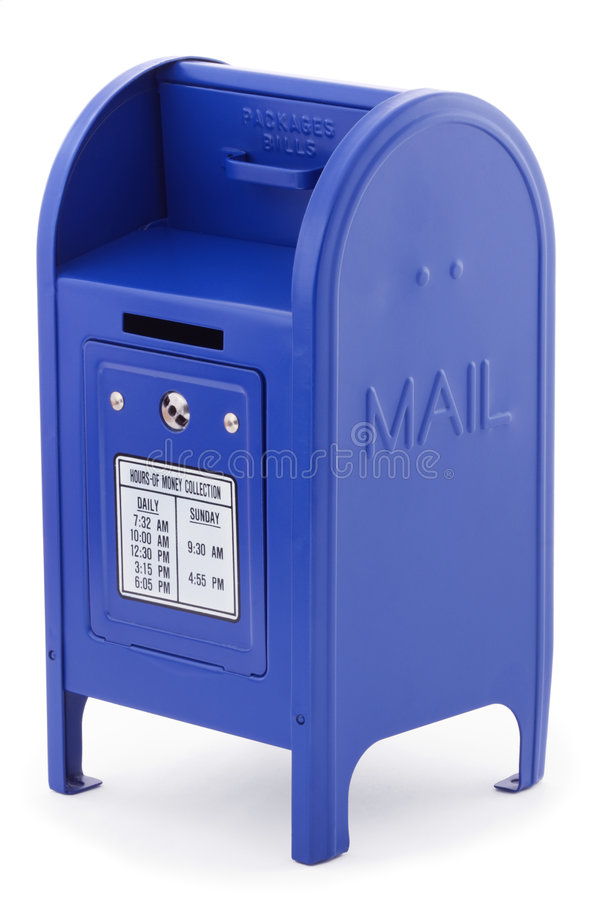 Mailbox 2 stock photos