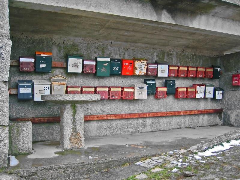Mailbox stockfoto