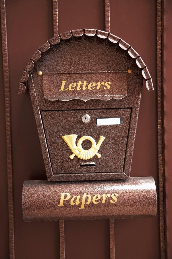 Mailbox stock photography