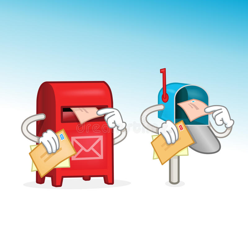 mailbox иллюстрация вектора