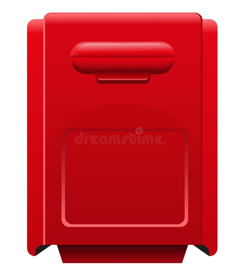 Mailbox icon vector illustration royalty free illustration