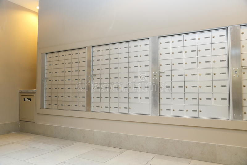 Mailbox stock image. Image of hallway, mail, living, apartment ...