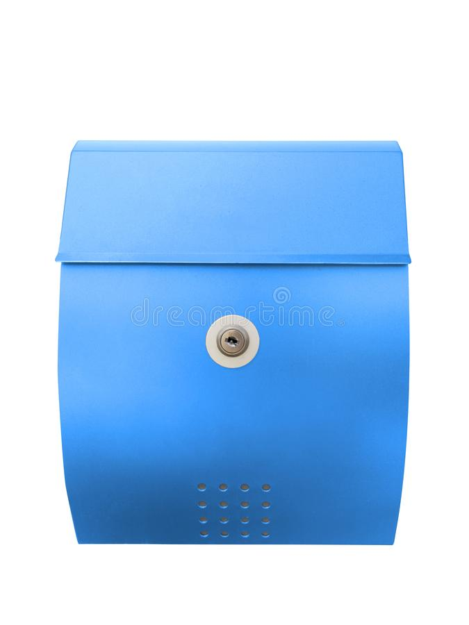 Mailbox isolated on white with clipping path. For design royalty free stock photo