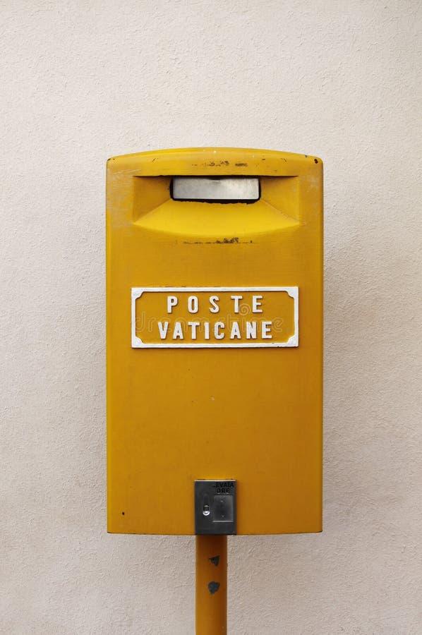 Vatican mailbox royalty free stock photo