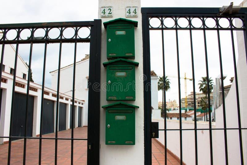 mailboxes στοκ φωτογραφία με δικαίωμα ελεύθερης χρήσης