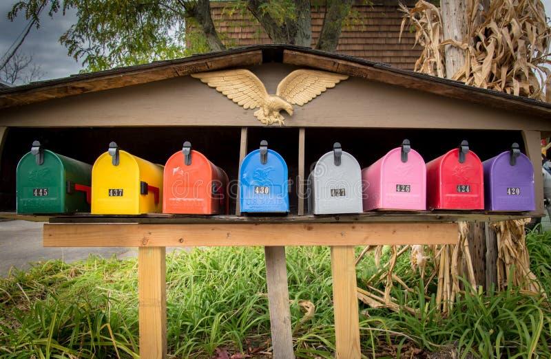 mailboxes στοκ φωτογραφίες