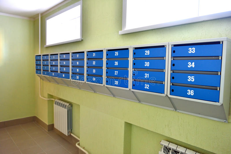 mailboxes photo libre de droits