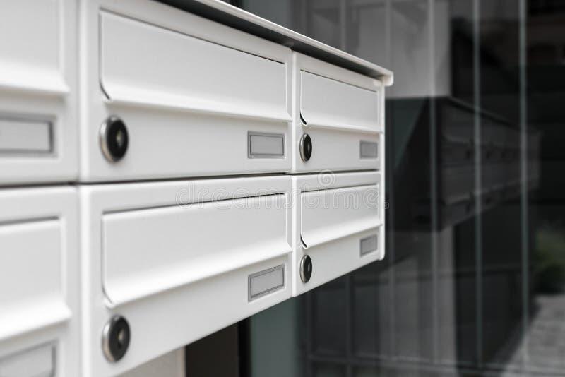 mailboxes stockbilder