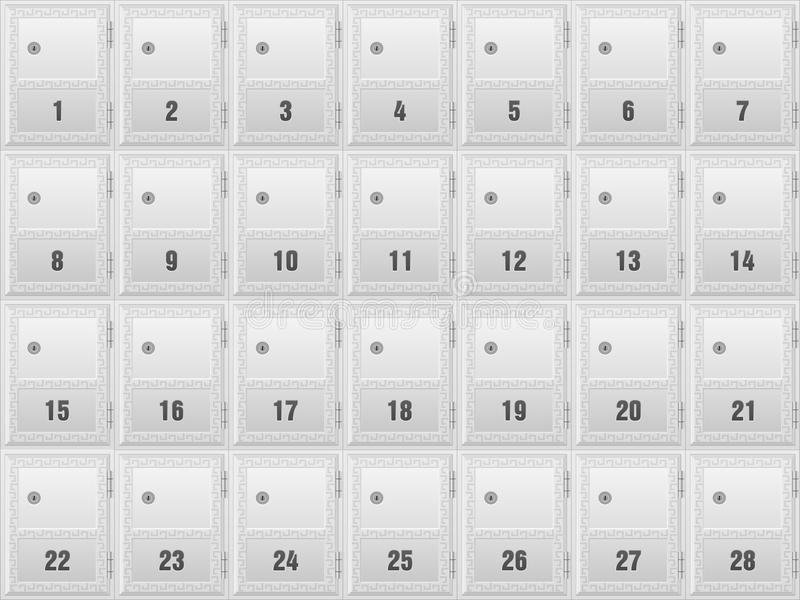 mailboxes stock abbildung
