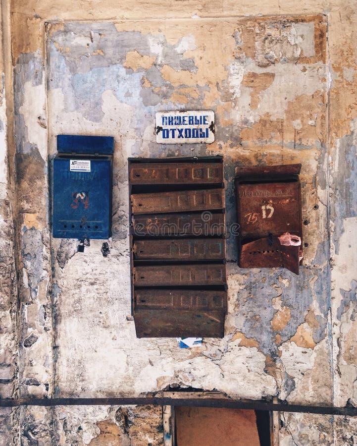 mailboxes photo stock