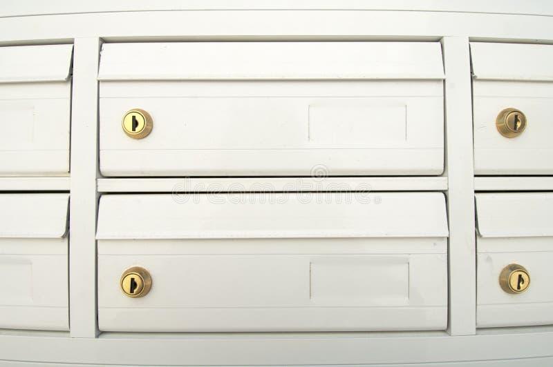 Mailboxes lizenzfreie stockbilder