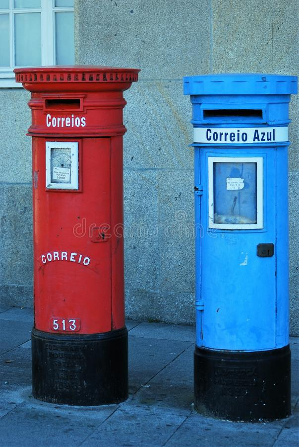 mailboxes fotografia de stock