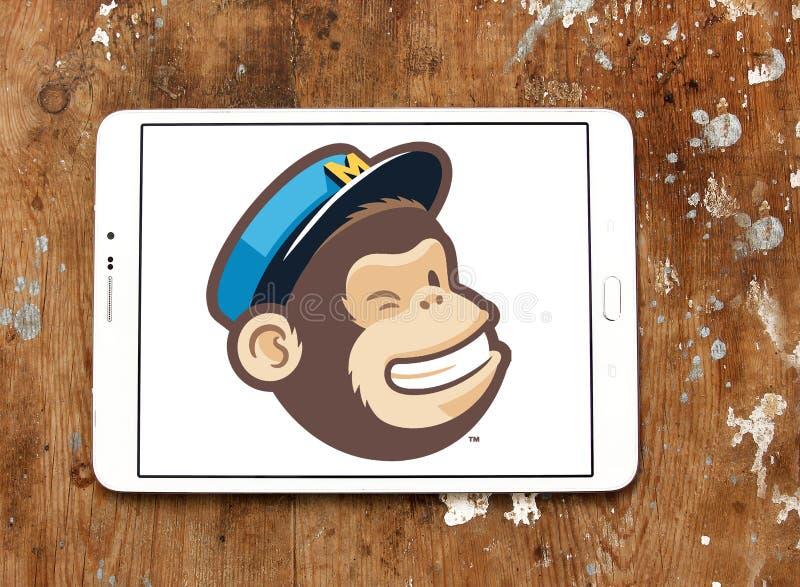 MailChimp company logo royalty free stock photos