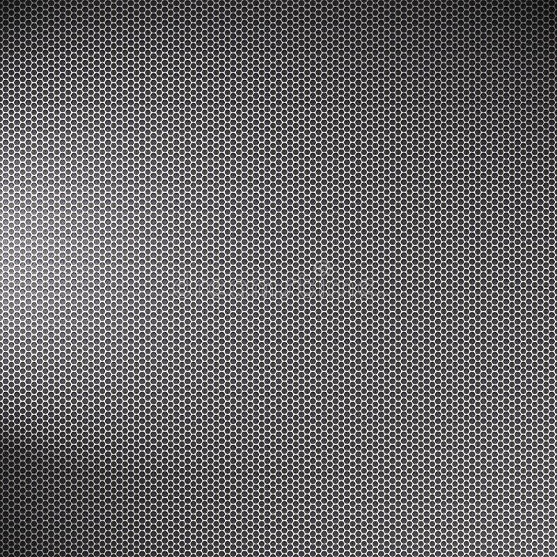 Maille de grille en métal illustration libre de droits