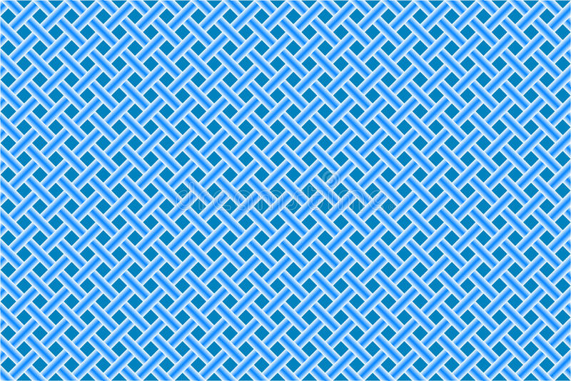 Maille diagonale sans joint bleue illustration libre de droits