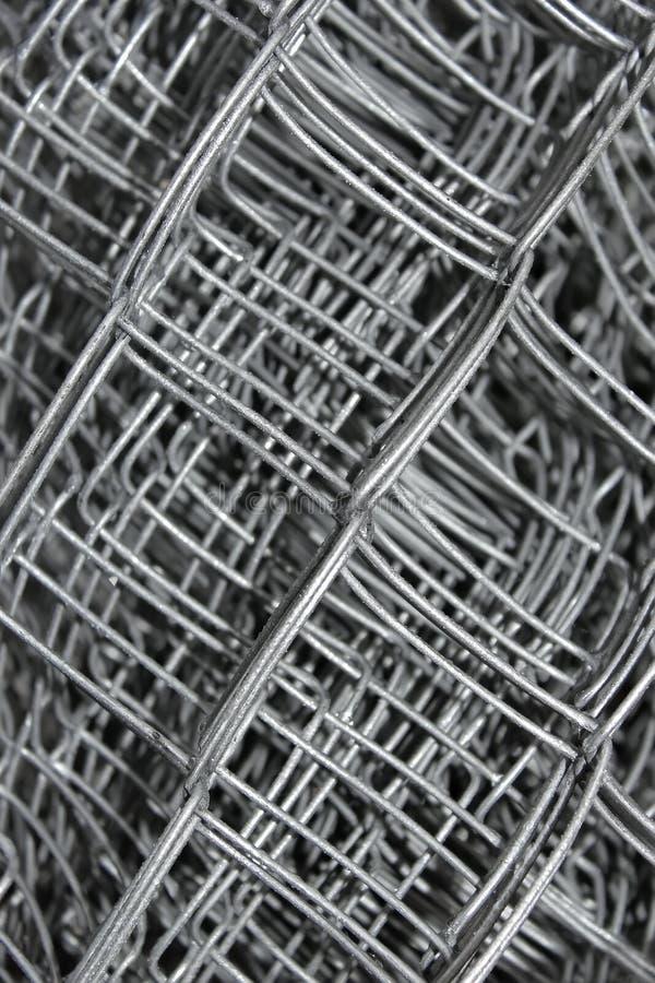 Maille en acier dans des couches multiples photographie stock libre de droits