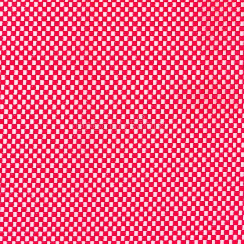 Maille en caoutchouc rouge photo libre de droits