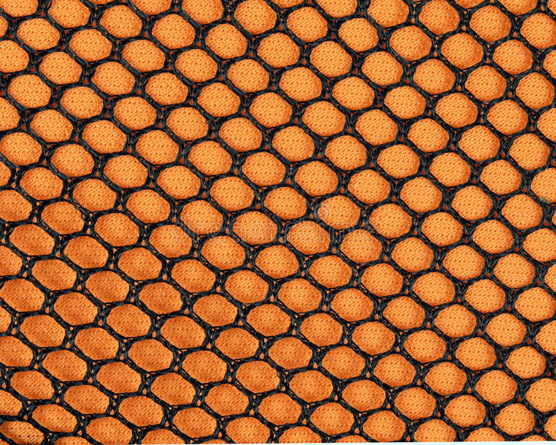 Maille Orange Photos stock