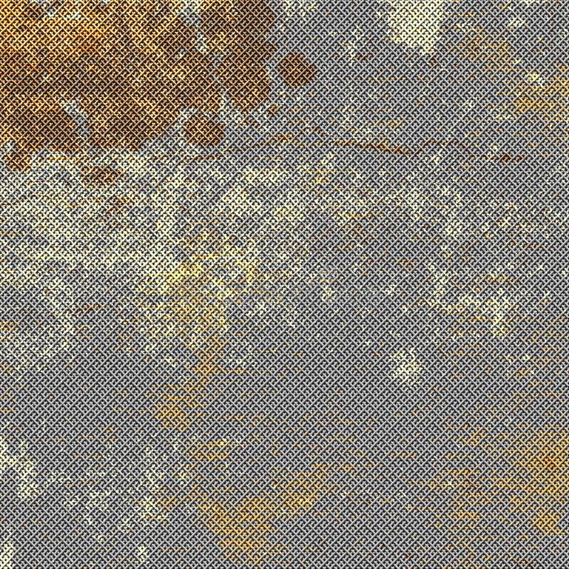Maille rouillée en métal illustration libre de droits