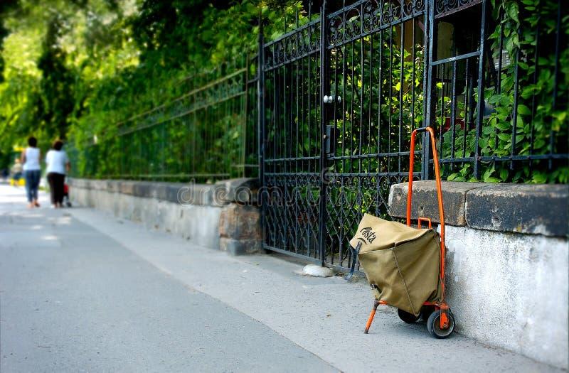 mailman s τσαντών στοκ εικόνα με δικαίωμα ελεύθερης χρήσης