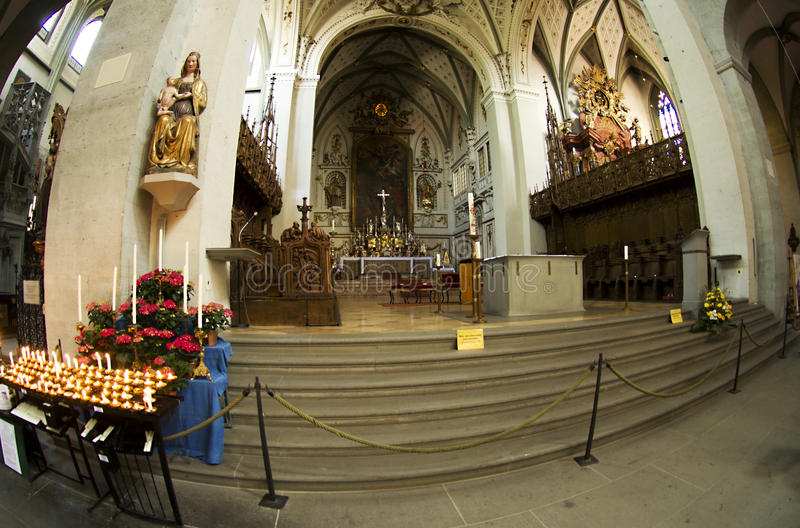 The Main Altar In The Cathedral Editorial Image
