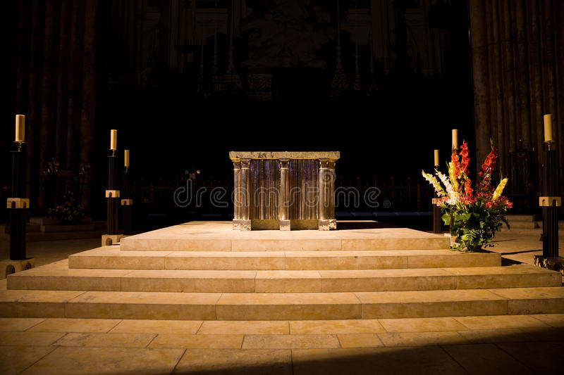 Main altar of Chartres Cathedral