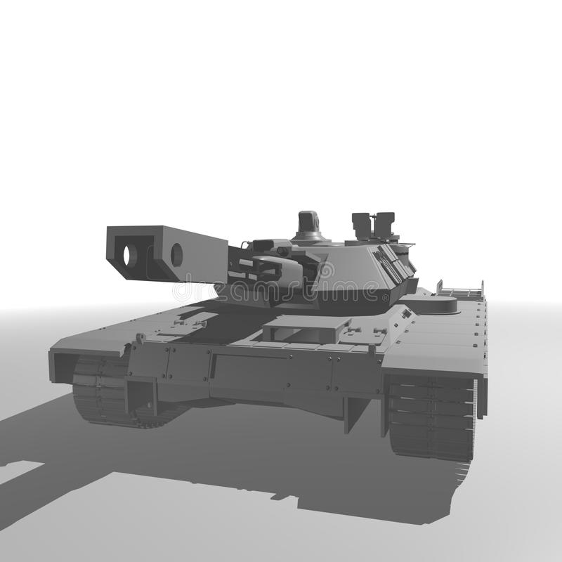 Main Battle Tank Royalty Free Stock Image