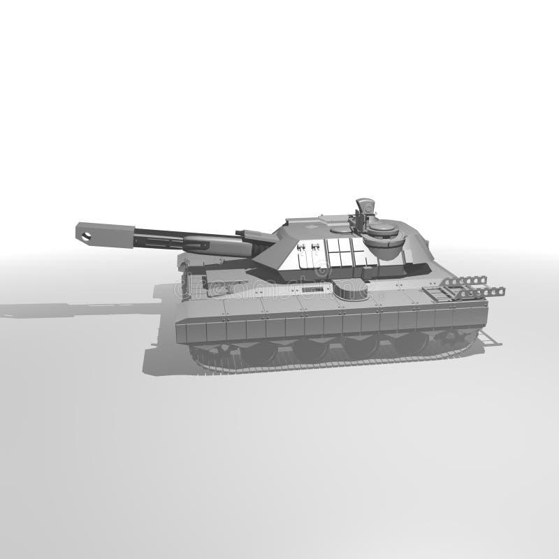 Download Main battle tank stock illustration. Illustration of graphic - 30592541