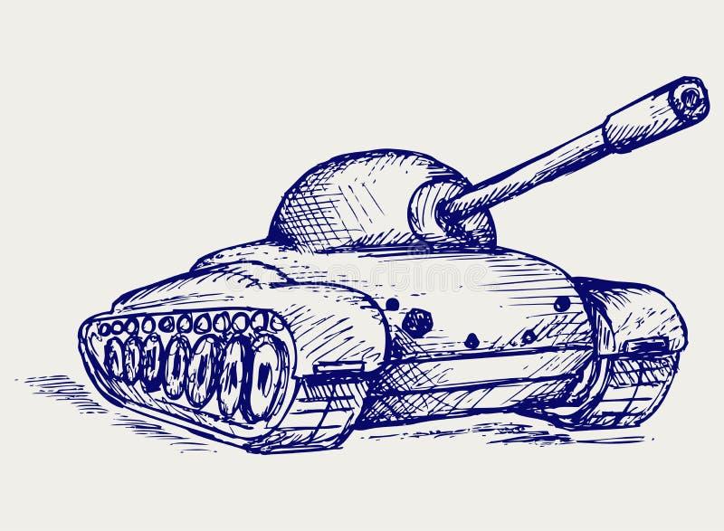 Main Battle Tank Stock Image