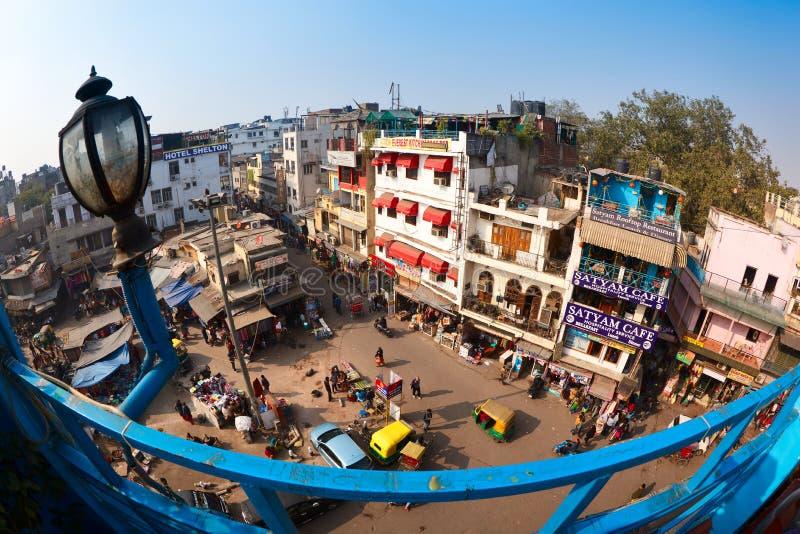 Main Bazaar Road royalty free stock images