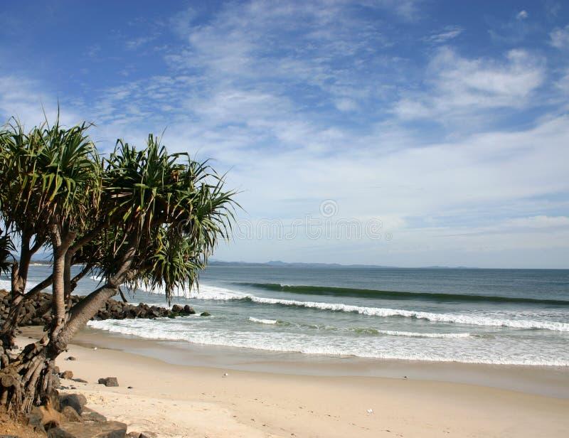 Main beach Byron Bay - Australia stock photo