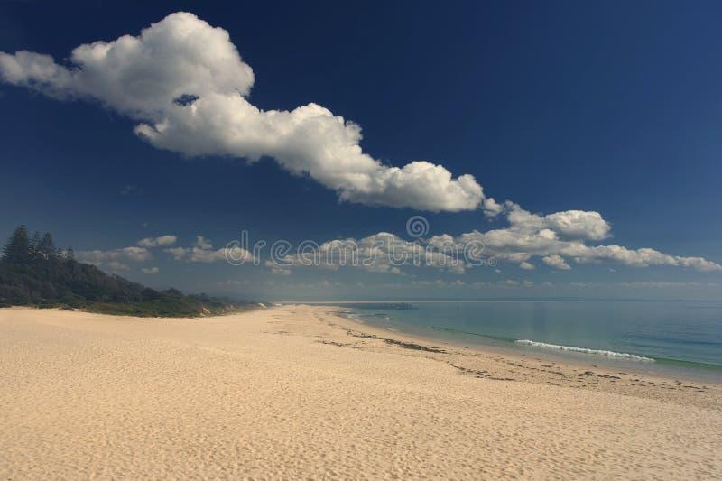 Main Beach Forster Nouvelle-Galles du Sud Australie images libres de droits