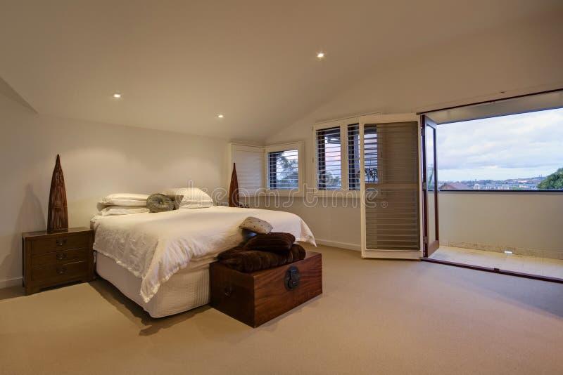 Main Bedroom royalty free stock photos