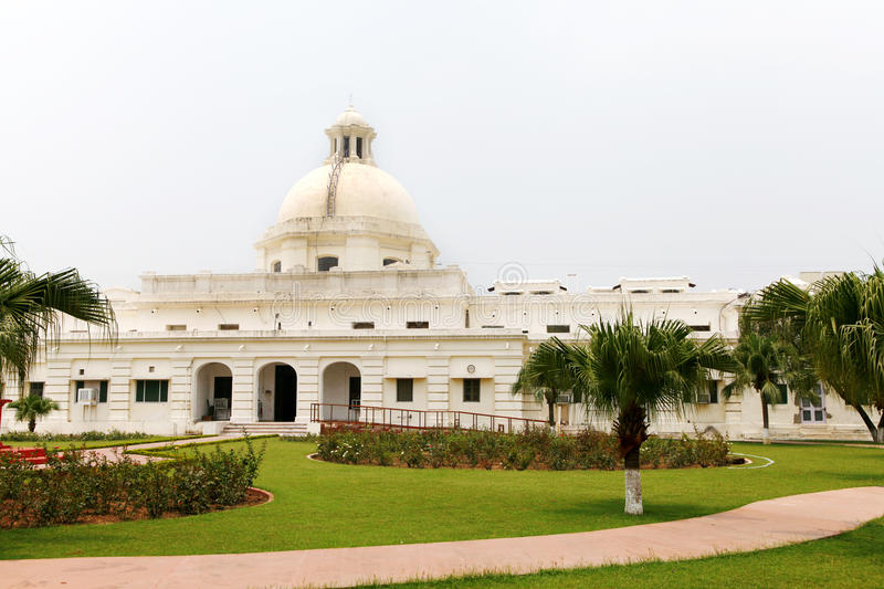 Main building of IIT Roorkee, 1852. ROORKEE, INDIA - JULY 03: The administrative building of IIT Roorkee photographed on July 03, 2015. This is a classic stock photo