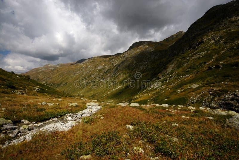 The main Caucasian ridge stock photos